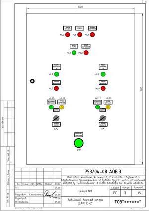 Внешний вид шкафа управления приточно-вытяжной вентиляцией ШАКПВ-2